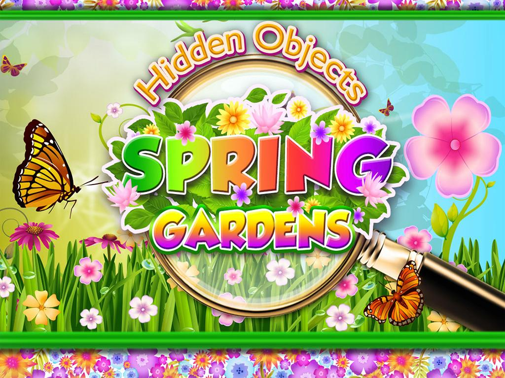 Hidden Objects Spring Gardens - Puzzle Object Game- screenshot