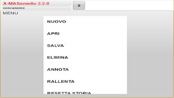 Screenshot of X-MASaniello