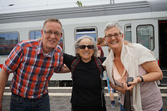 Photo: Broken Train and new friends