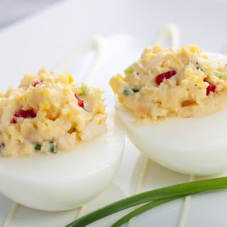 Spicy Wicked Deviled Eggs