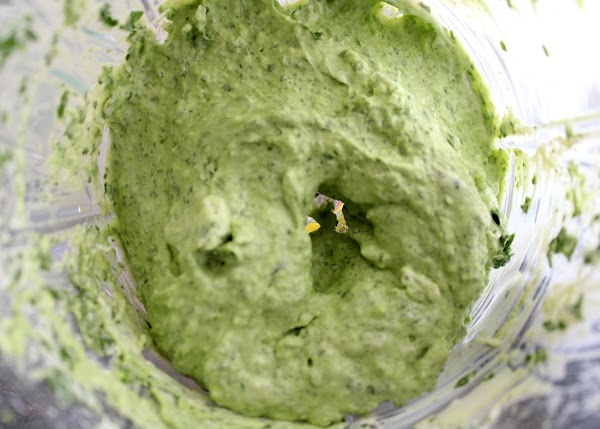 Combine all spinach spread ingredients in a food processor and mix to a creamy...
