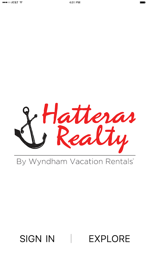 Hatteras Realty- screenshot
