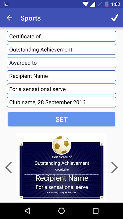degree certificate generator