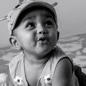 Start to speak  by Iqbal Kabir - Black & White Portraits & People