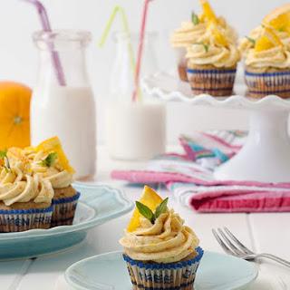 Gluten Free Honey Orange Cupcakes