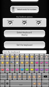 Black and White Keyboard screenshot 4