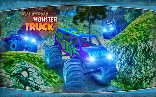 Extremely Off Road Angry Monsters Truck Simulator - náhled