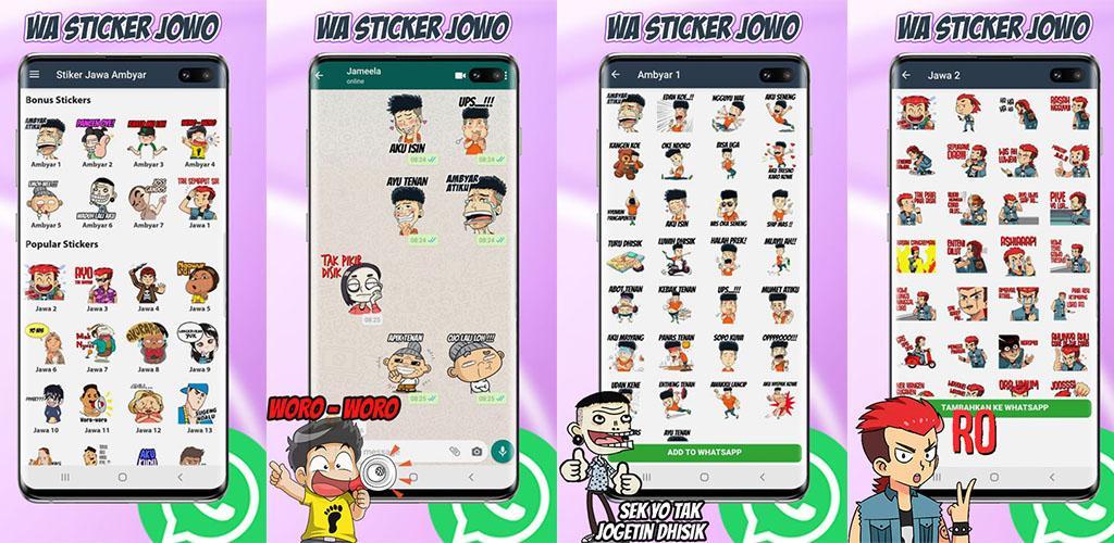 Stiker Wastickerapps Jowo Jawa For Whatsapp 1 0 Apk Download Com