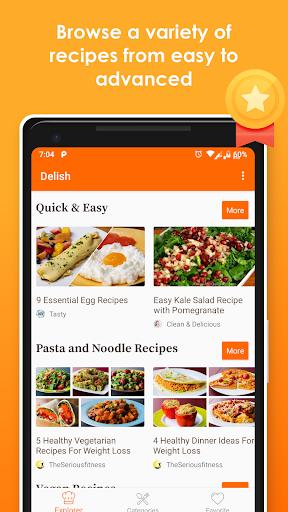 Healthy Easy and Keto Recipes - MyDelish 1.4 screenshots 2
