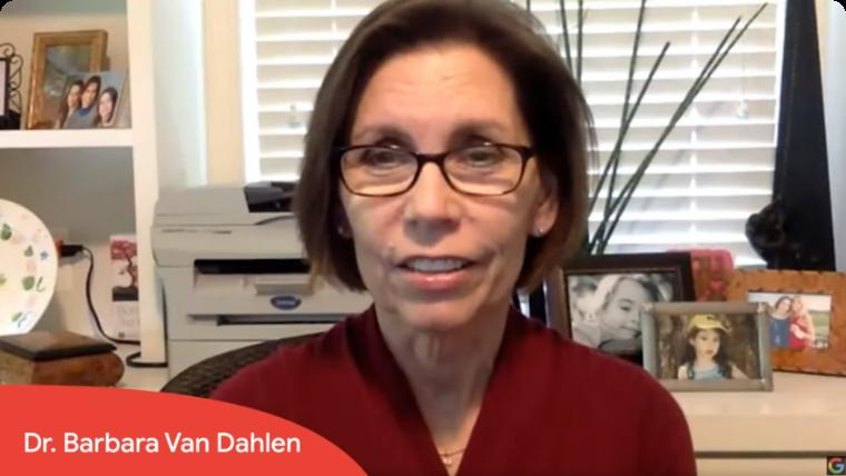 Photo of Dr. Barbara Van Dahlen