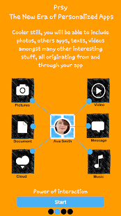 Prsy-Build your own social app- screenshot thumbnail
