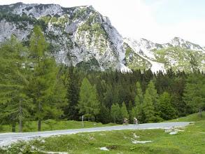 Photo: Auch der Blick auf die Bergwelt wird frei.