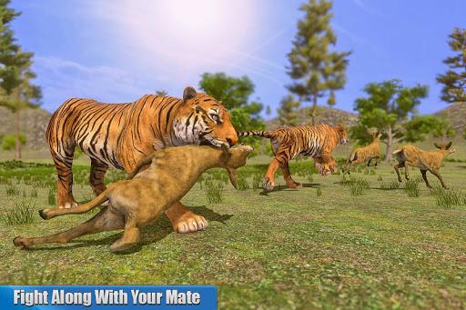 Tiger Family Simulator: Angry Tiger Games 1.0 screenshots 9