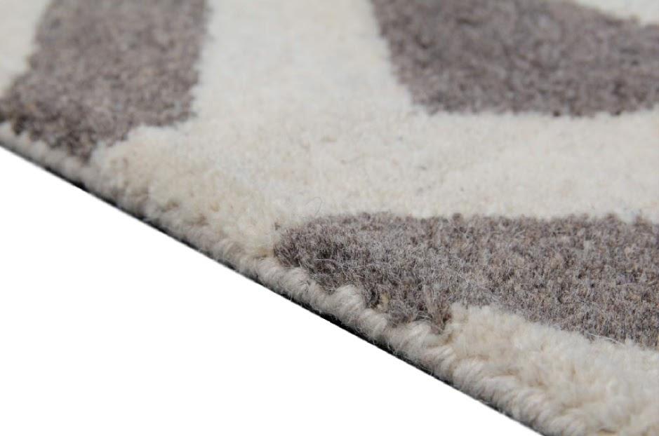 100% wełnany 50kg gigant dywan z Indii ręcznie taftowany złoto szary z połyskiem piękny nowoczesne wzory