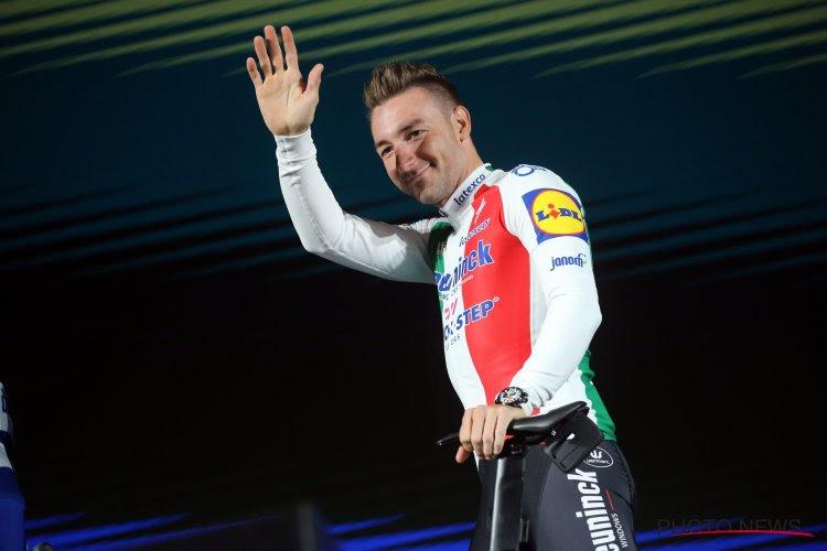 Le Giro est fini pour Elia Viviani