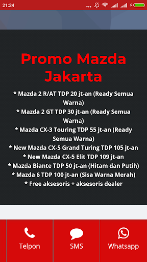 Mazda Jakarta 1.0 screenshots 5