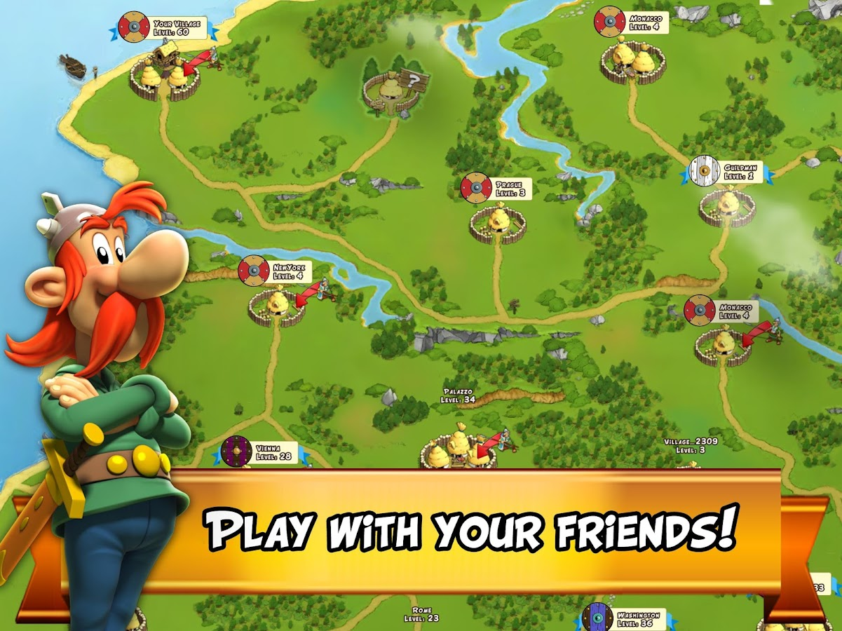 asterix and friends app