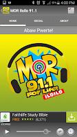 Screenshot of MOR Iloilo 91.1 MHz