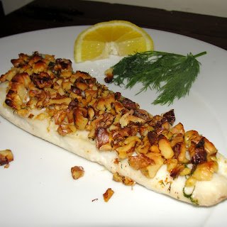 Roasted Haddock with Walnut Crust