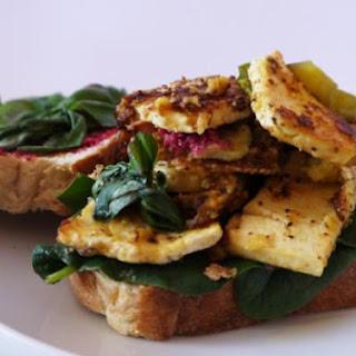 The Ultimate Tofu Club Sandwich.