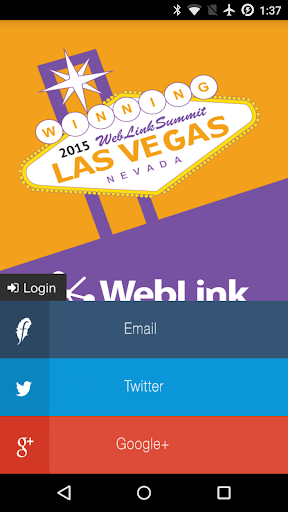 Weblink Summit 2015