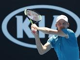 David Goffin zou al blij zijn met tweede ronde op Australian Open