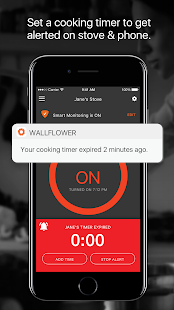 Wallflower - Smart Monitor for Your Electric Stove- screenshot thumbnail