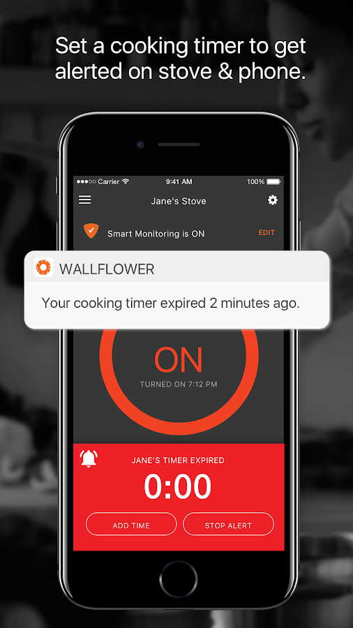 Wallflower - Smart Monitor for Your Electric Stove- screenshot