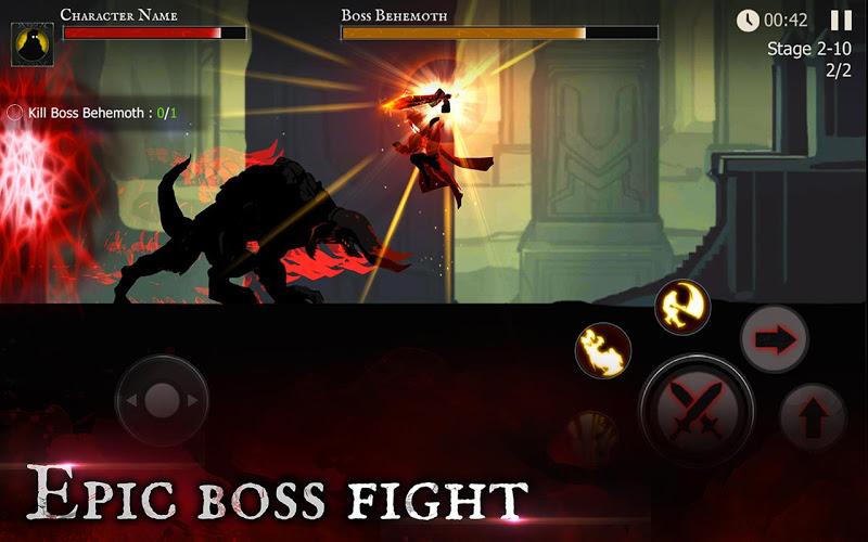 Shadow of Death: Dark Knight - Stickman Fighting Screenshot 4