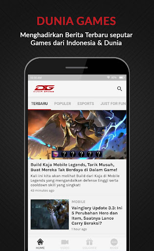 DuniaGames Dunia Games Mobile App v1.5.7 screenshots 1