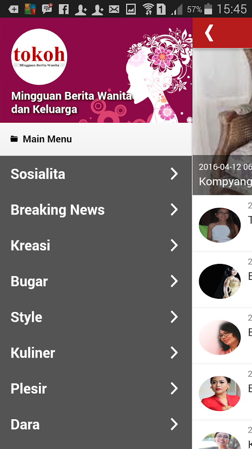 Tokoh for Android- screenshot