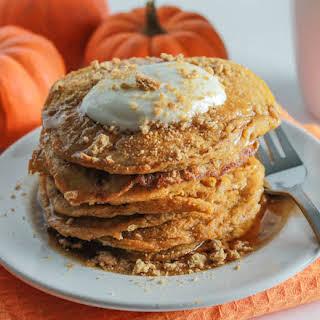 Pumpkin Cheesecake Pancakes.