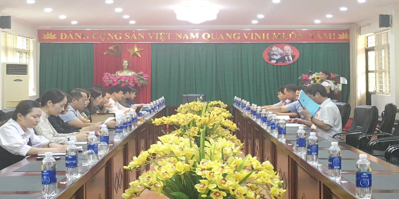 Phân hiệu ĐHTN tại tỉnh Lào Cai làm việc với đoàn kiểm tra của Bộ Giáo dục và Đào tạo