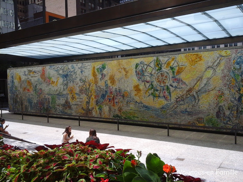Chase Plaza - the four seasons / Chagall