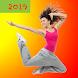 減量のためのダンスカーディオワークアウト