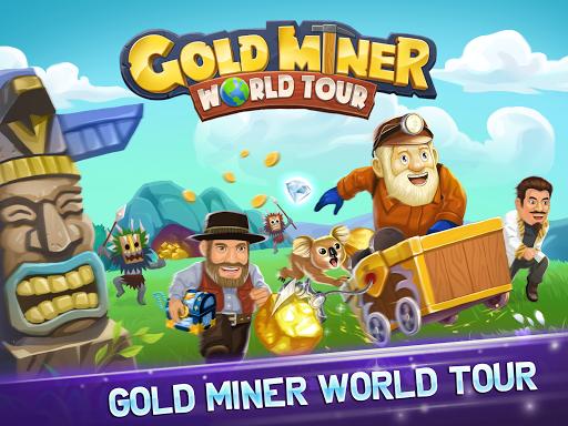 Gold Miner World Tour: Gold Rush Mining Adventure screenshots 13