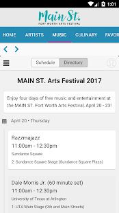 MAIN ST. Fort Worth Arts Fest- screenshot thumbnail