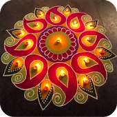Rangoli Designs With Dot, Offline And Simple