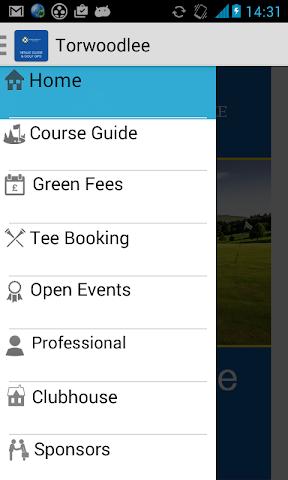 android Torwoodlee Golf Club Screenshot 1