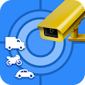 GPS Speed Camera Detector - Radar and Speedometer icon