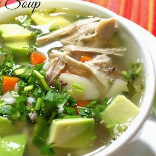 Mexican Chicken Soup / Caldo de Pollo