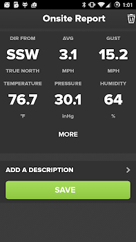 Wind and Weather Meter