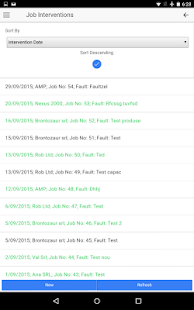 Service JOBApp screenshot