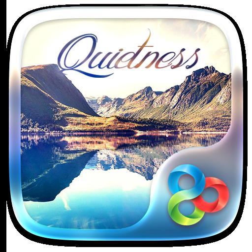 Quietness Go Launcher Theme