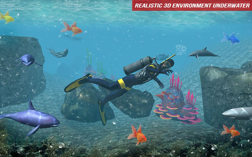 Underwater Scuba Diver Survival: Shark Hunger 2018 1.2 {cheat|hack|gameplay|apk mod|resources generator} 4