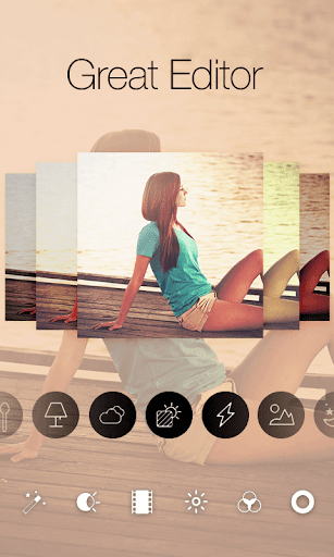 Square Pic Photo Editor-Collage Maker Photo Effect  screenshots 1