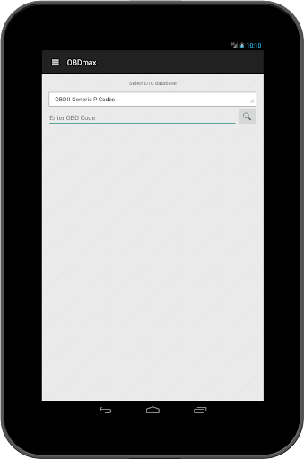OBD2 scanner & fault codes description: OBDmax  screenshots 11