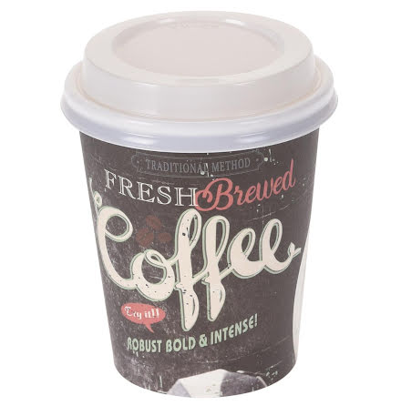 Kaffemugg m lock, Papp 12-pack