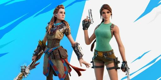 Fortnite's Aloy, Lara Croft Mode Delayed to Next Week