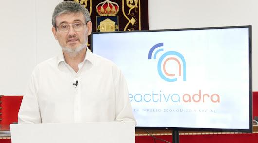 Adra presenta un plan con 3,4 millones para reactivar la ciudad